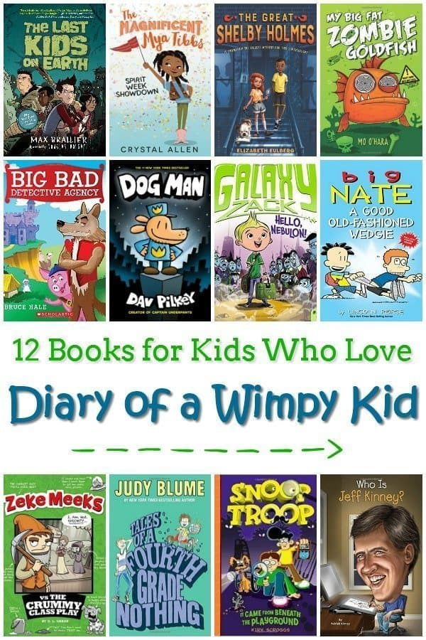12 Books for Kids Who Love Diary of a Wimpy Kid
