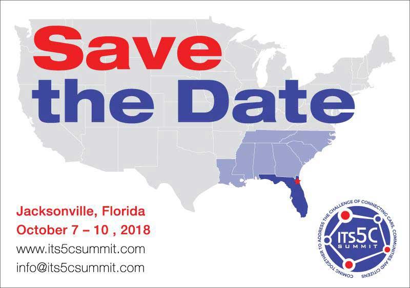 ITS 5C Summit | Oct 7 - 10, 2018 | Jacksonville FL