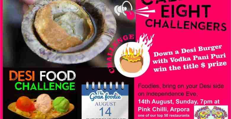 Goan Foodie Desi Food Challenge