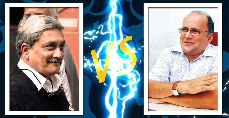 Aires to take on Parrikar