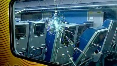 Photo of High-speed Tejas Express robbed & damaged