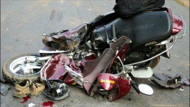 Photo of Singing tourists crash bike in Goa