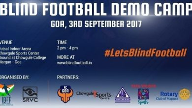 Photo of Goa To Experience The Magic Of 'Blind Football' For The First Time
