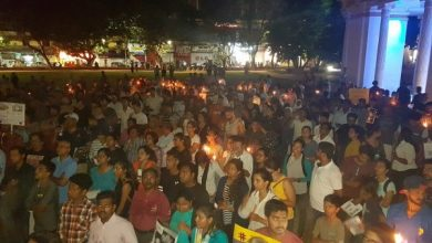 Photo of Goa rallied for justice for the victims of rape in the country