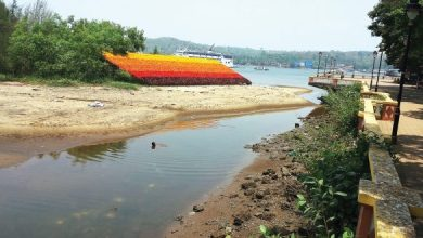 Photo of Investigating the 'illegal' art installation in the intertidal zone in Panjim