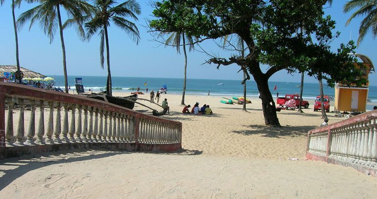 Colva beach is the Best beaches in Goa for water sport