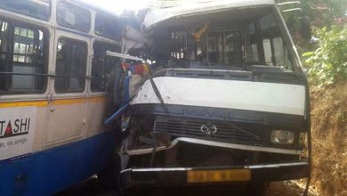 Photo of Bus accident in Farmagudi leaves passengers seriously injured