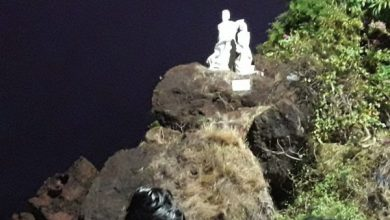 Photo of Iconic statue of Dona Paula in ruins – Authorities pass the buck