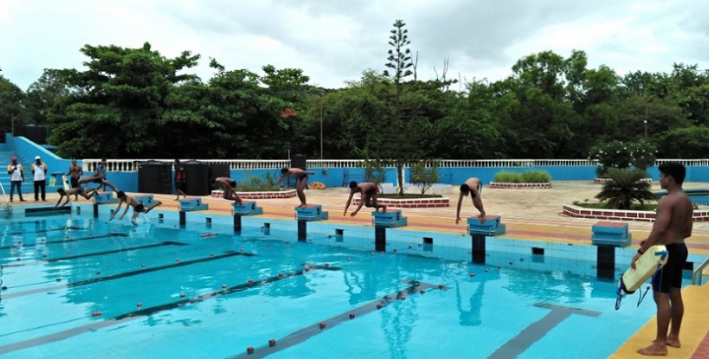 Campal Swimming Pool with lessons