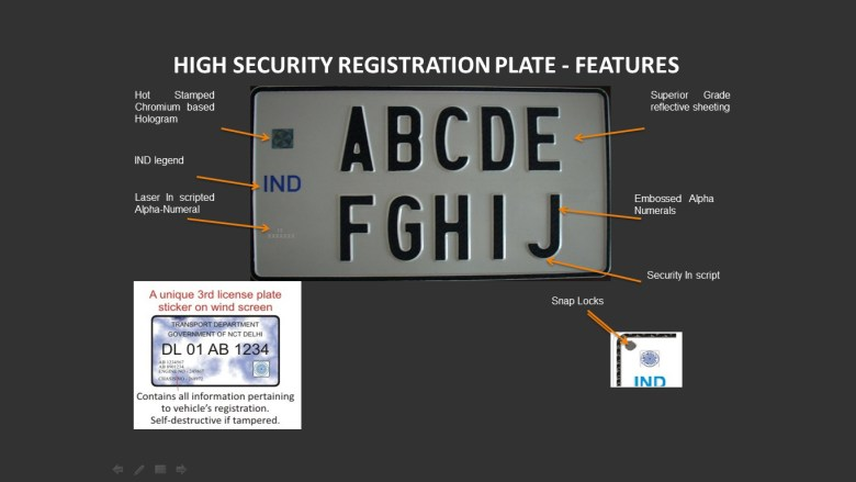 Get Ready To Switch To High-Security Registered Plates