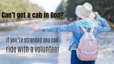 Photo of Can't get a cab in Goa? If you're stranded you can ride with a volunteer