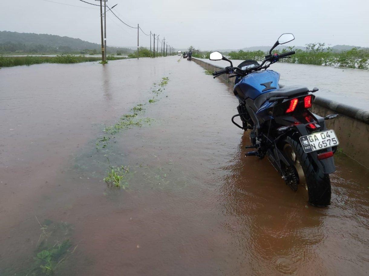Flooding in Goa