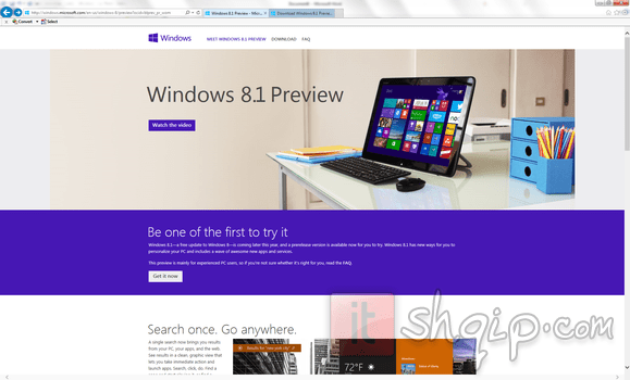 Windows 8.1 Preview1 ITshqip