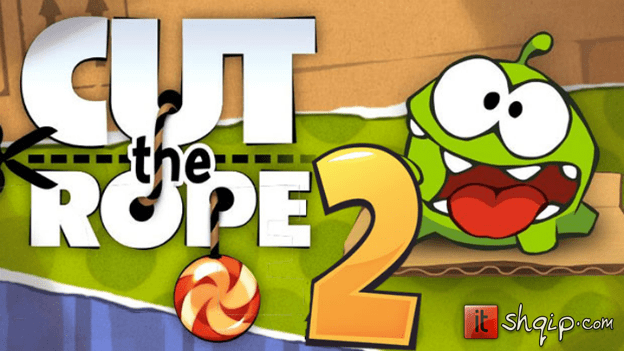 Cut the Rope 2 arrin në Android