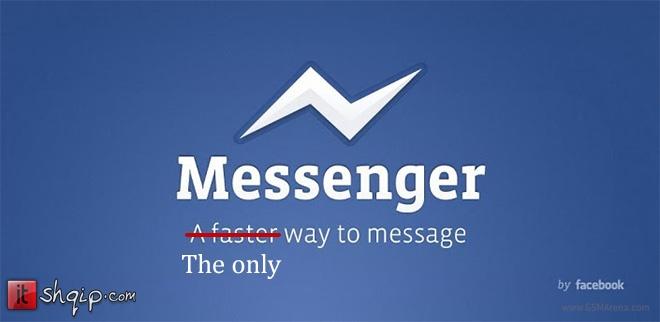 Messenger, i vetmi aplikacion për bisedë në Facebook