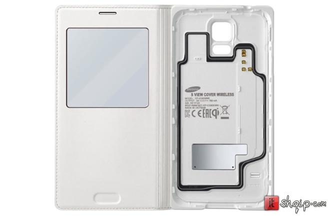 Samsung lanson kopertinat mbushëse pa tela për Galaxy S5