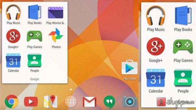Thashethemet rreth Android 4.55