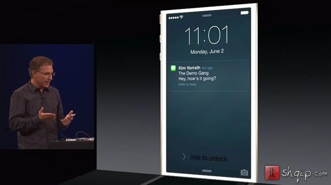 Apple prezanton iOS 8 dhe Mac OS X Yosemite3