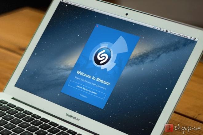 Shazam tani në dispozicion në Mac