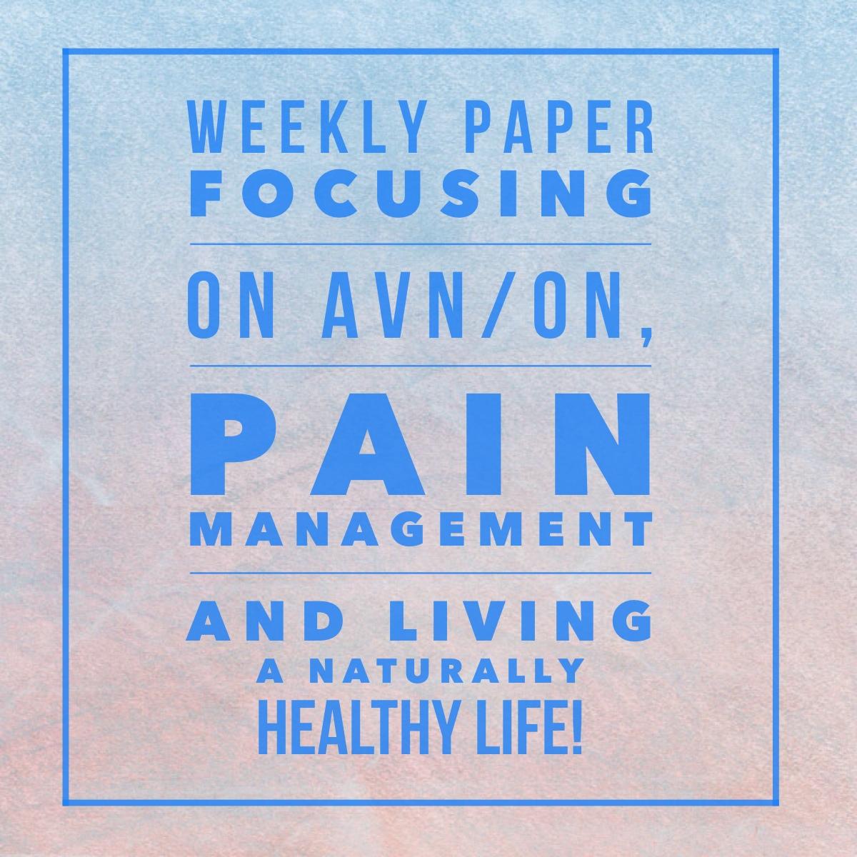 """My Aching Bones"" – New Paper.li Page!"