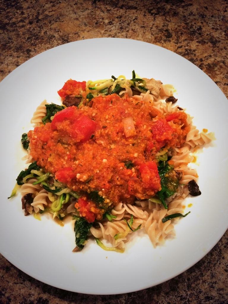 Chew On This: Gluten Free Veggie Pasta