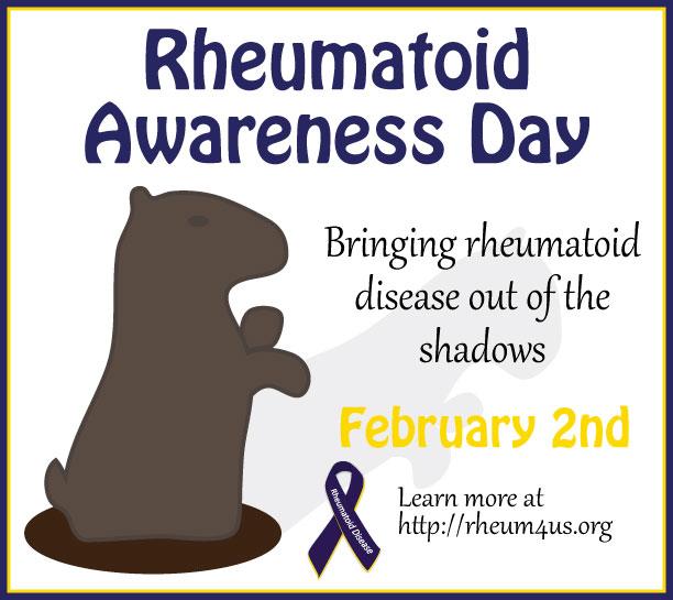 Rheumatoid Disease Day! 2.2.2014