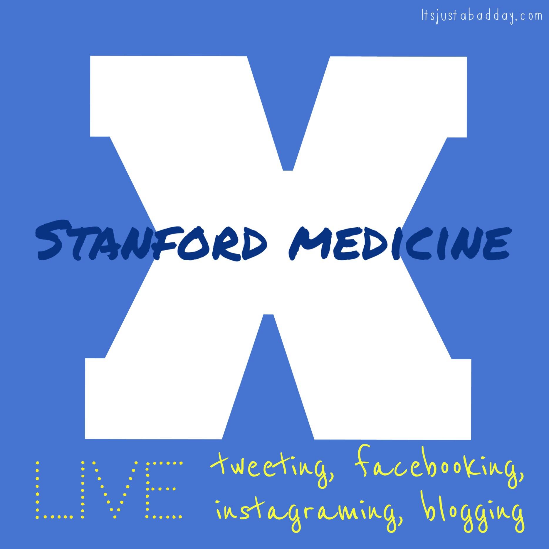 Follow #medx!