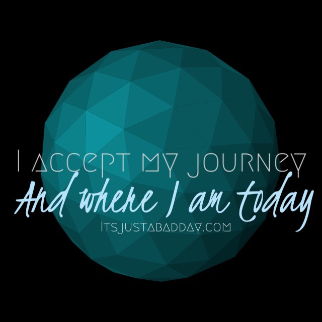 Accepting Where You Are In Your Journey