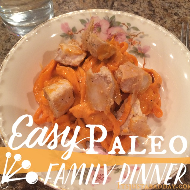 Chew On This: Buffalo Chicken Alfredo Pasta