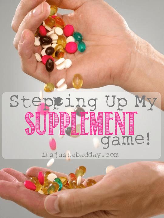 Handfuls of Supplements #WellnessWednesday