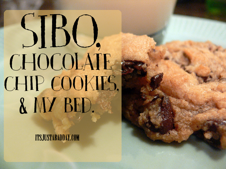 SIBO, Cookies & Bed. #WellnessWednesday