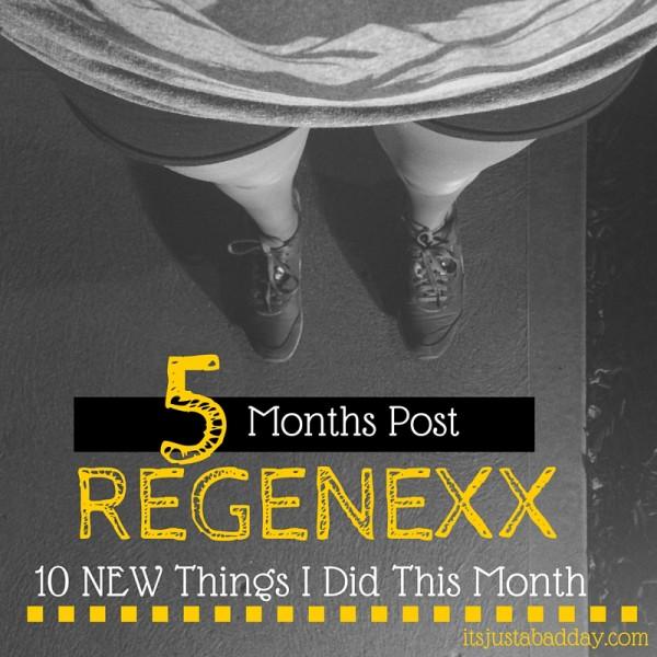 10 Amazing Things 5 Months Post Regenexx