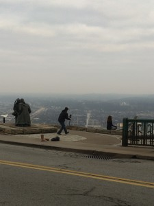Amazing Director Doug Orchard Shooting Me And My Regenexx Story On Top of Mt Washington in Pittsburgh, PA December 2015