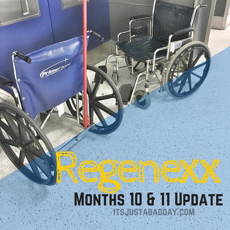 Regenexx Months 10 & 11 Update