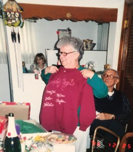 This isn't the greatest photo of my Grandma, my cousins or my Uncle Ben, but it's the only one I could find that showed part of his hands. You can kind of see it here (if you zoom in) - notice his knuckles. Autoimmune Arthriits, Rheumatoid Arthritis, Psoriatic Arthritis