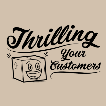 Thrilling Your Customers Book Cover