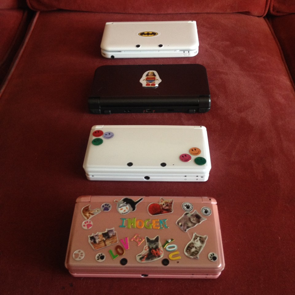 We love our 3DS's