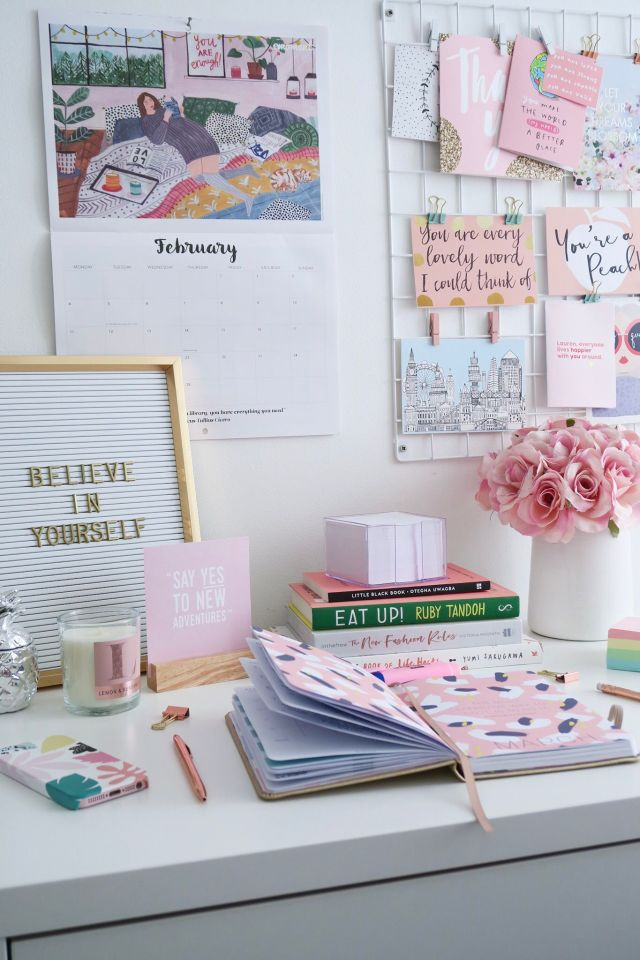 6 Ways To Make Your Desk Space Inspirational
