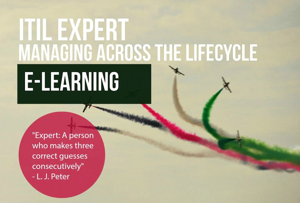 Itil Expert Itil Managing Across The Lifecycle E Learning Nissen