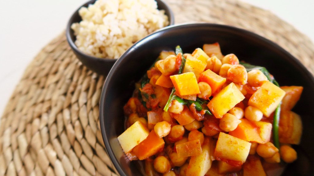 easy and healthy chickpea stew recipe main.