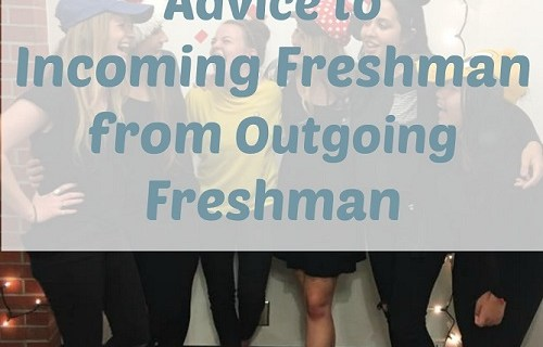 Honest Advice For Freshman from Current Students