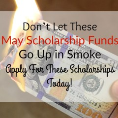 Pay For College With These May Scholarships