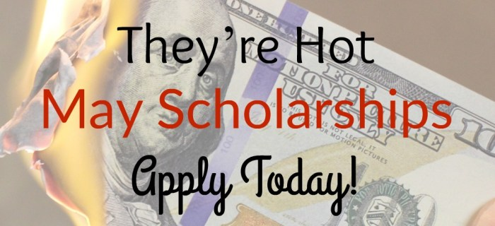 May 2017 Scholarship Opportunities – Round 2