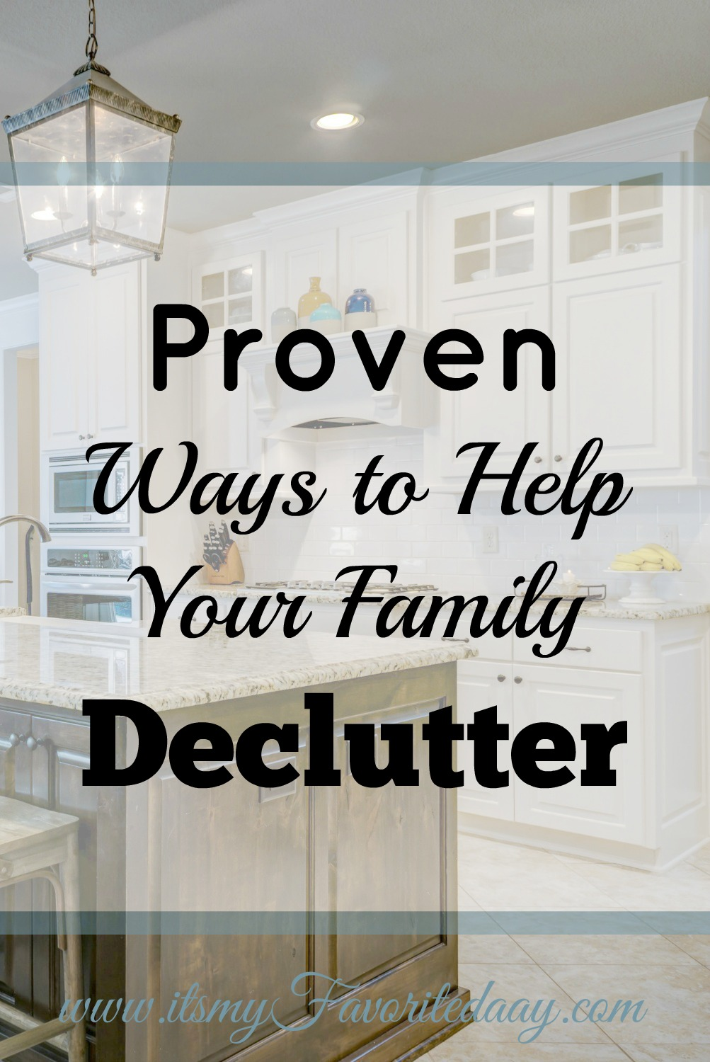 If you are serious about helping your family declutter and finally get organized then you MUST read this! Great article, I may actually become clutter free! Read this now and make sure to repin