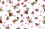 Nadia Kronfli, Butterflies, Fabric
