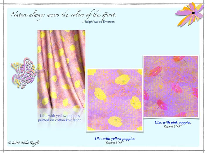 Nadia Kronfli, Lilacs, Poppies