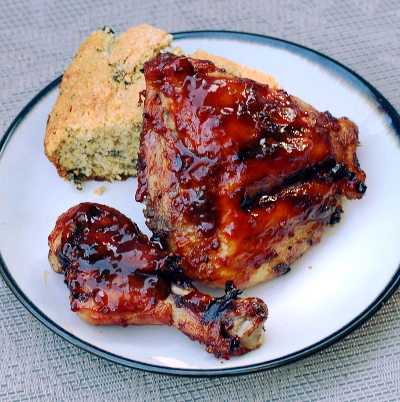 Molasses Barbecued Chicken