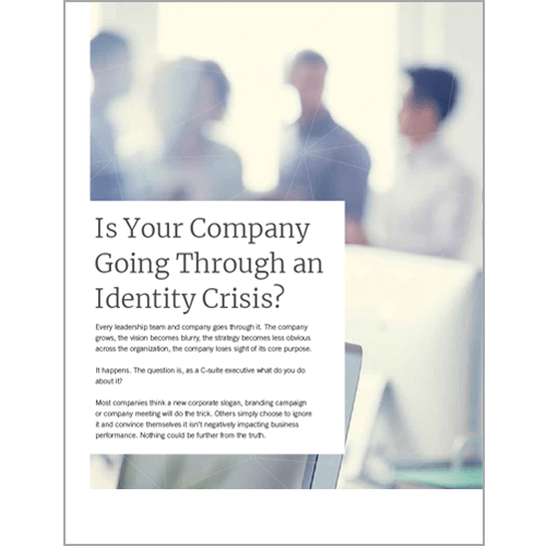 Is your company going through an identity crisis?