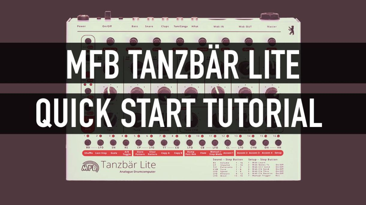 Tanzbär Tanzbar Lite - create a simple beat and save it - itsoundsfuture.com