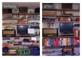 Organized Family Room